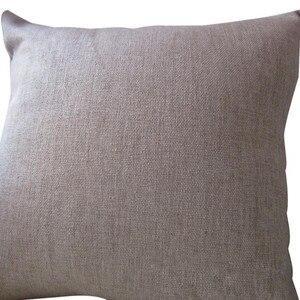 Image 2 - Funda de almohada con patrón de Rosa hermosa, funda de cojín de algodón y lino, funda de almohada decorativa para sofá de hogar y fiesta
