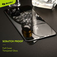 Benks 3D Edge Full Cover Screen Protector Tempered Glass For IPhone X Scratch Protective Glass For