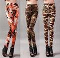 Army Print Women Leggings 2016 Spandex Polyester Women Pants Winter Sheath Trousers