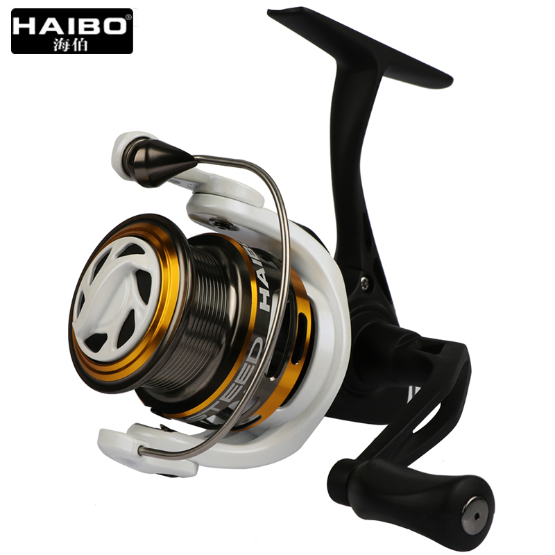 цена на Haibo Steed Full Metal Spool Spinning Fishing Reel 9BB Lure Sea Fishing Wheel 1000 2000 2000 3000 Series