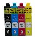 Для Epson T0921-t0924 Картридж для Epson T0921 T0922 T0923 T0924 для Epson Stylus C91 4300 26 106 109 27 117 119 Один Комплект