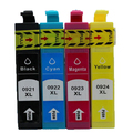For Epson T0921-T0924 Ink Cartridge for Epson T0921 T0922 T0923 T0924 for Epson Stylus C91 4300 26 106 109 27 117 119 One Set
