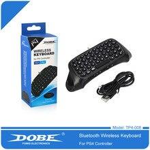 DOBE teclado de mango para PS4, Bluetooth Mini teclado inalámbrico, para Sony PlayStation PS 4