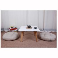 Natural Bamboo And Wind Tatami Sifang Table Japanese Style Multi Function Side Table A Few