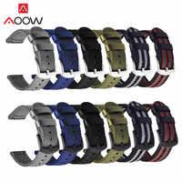 Bracelet en Nylon de haute qualité 18mm 20mm 22mm 24mm Bracelet de remplacement pour montre DW