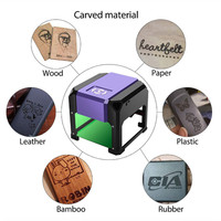 New Laser Engraving Machine DIY CNC Laser Carving Machine Logo Mark Printer Cutter USB Port