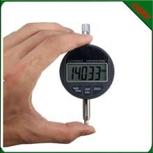 0-12.7mm/0.001 mm Micron Digital Indicator Large LCD Display Electr Digital Dial Gauge