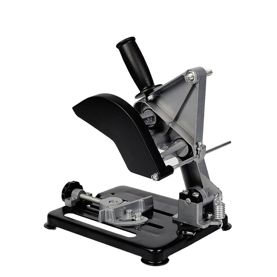 Accessoires de meuleuse universelle Support de meuleuse d'angle outil de travail du bois bricolage coupe Support de meuleuse outils électriques Dremel