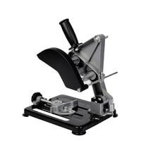Universal Grinder Accessories Angle Grinder Holder Woodworking Tool DIY Cut Stand Grinder Support Dremel Power Tools