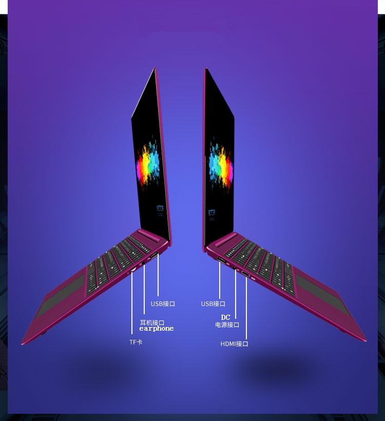 Fast Gaming Laptop 6G 64GB 128GB 240GB 500GB windows 10 15 6inch Laptop N3450 Metal case