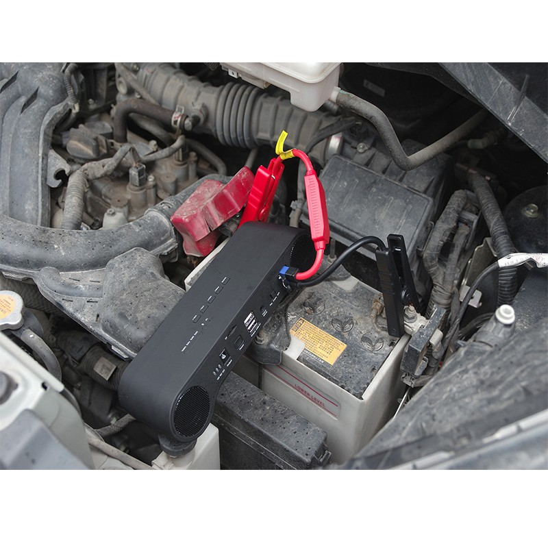 Portable Jump Starter with bluetooth speaker for charge the mobile ,laptop and LED philips hr1863 00 viva collection