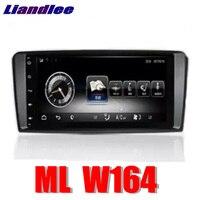 Liandlee автомобильный мультимедийный плеер NAVI для Mercedes Benz MB мл м класса W164 2005 ~ 2011 Comand NTG автомобилей Радио Стерео gps навигации