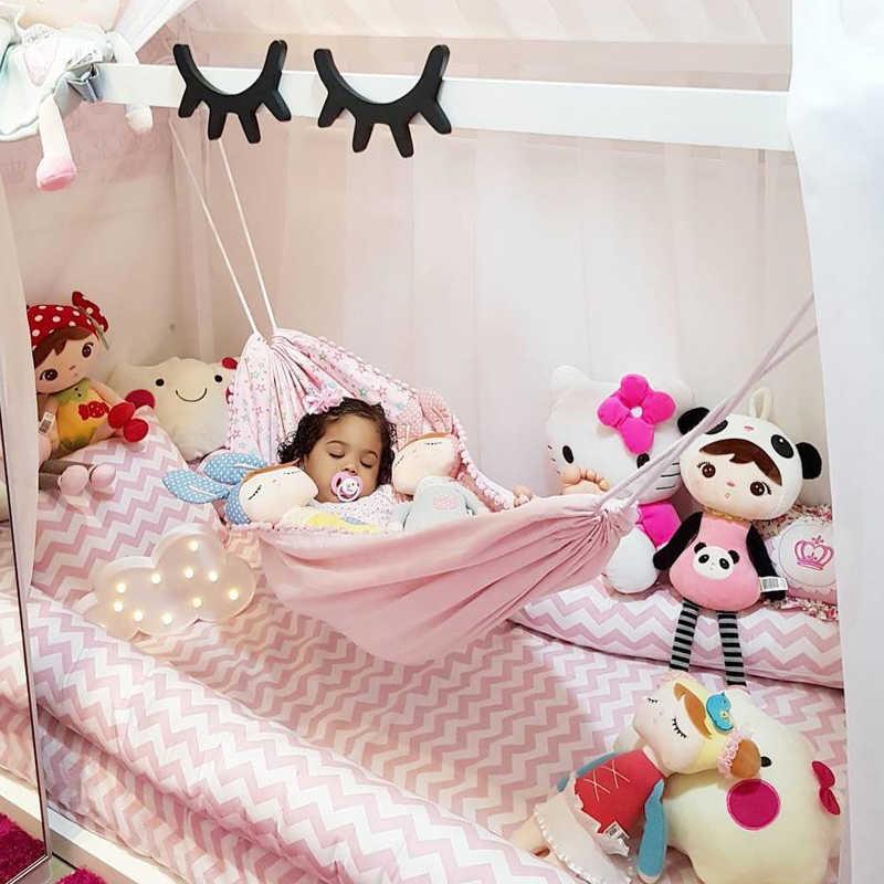 Детская безопасность гамак спальный кровать для новорожденных портативный складной кроватки детские путешествия манеж висит качели колыбели