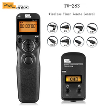 Pixel TW-283 Wireless Timer Remote Control Shutter Release for Canon Nikon D90 D5100 D3200 D3300 D3100 D7100 D5200 Sony Camera