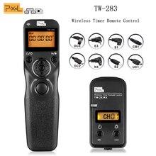Pixel TW-283 Wireless Timer Remote Control Shutter Release for Canon Nikon D90 D5100 D3200 D3300 D3100 D7100 D5200 Sony Camera