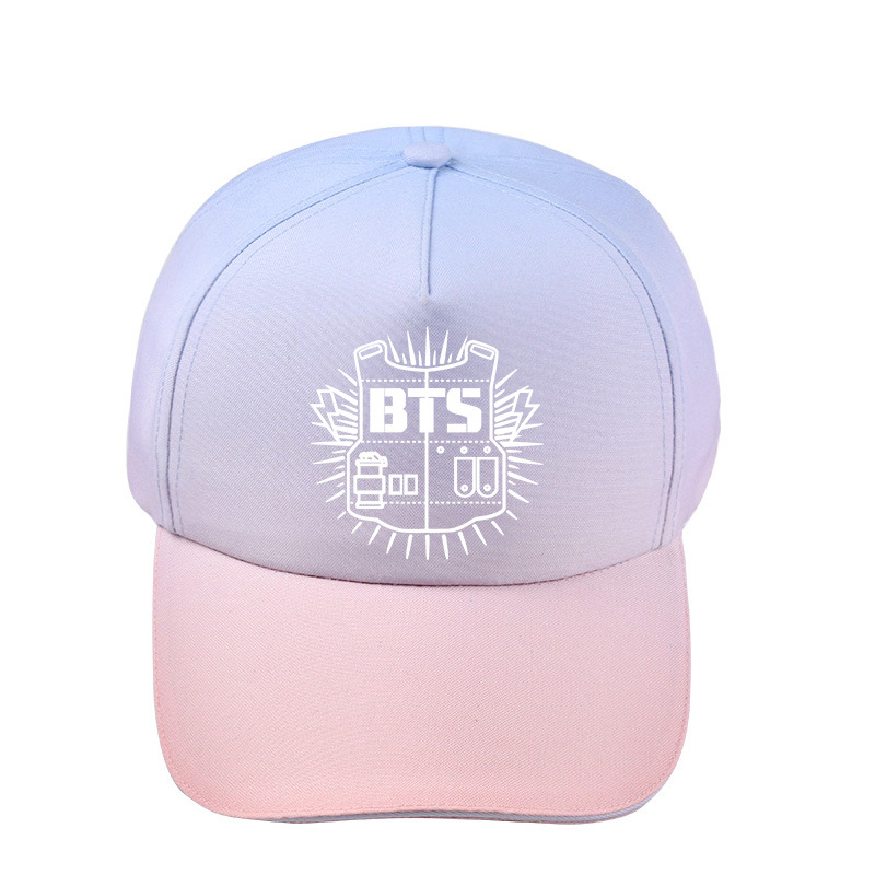 d470ee0f44b ONGSEONG KPOP BLACKPINK BTS SEVENTEEN GOT7 TWICE MONSTA X EXO Album Gradient  Baseball Cap For Men Women Unisex Hats JCF MZ007-in Baseball Caps from  Apparel ...