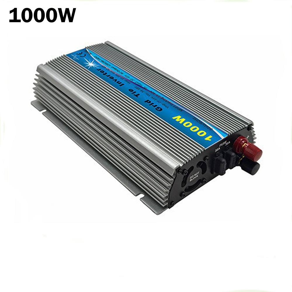 1000w Solar Power On Grid Tie Micro Inverter 20 45v Dc To Ac 120 Microinverter Panel System Design Electronic Products 230v Pure Sine Wave 1000watt For 24v 36v In Inverters Converters