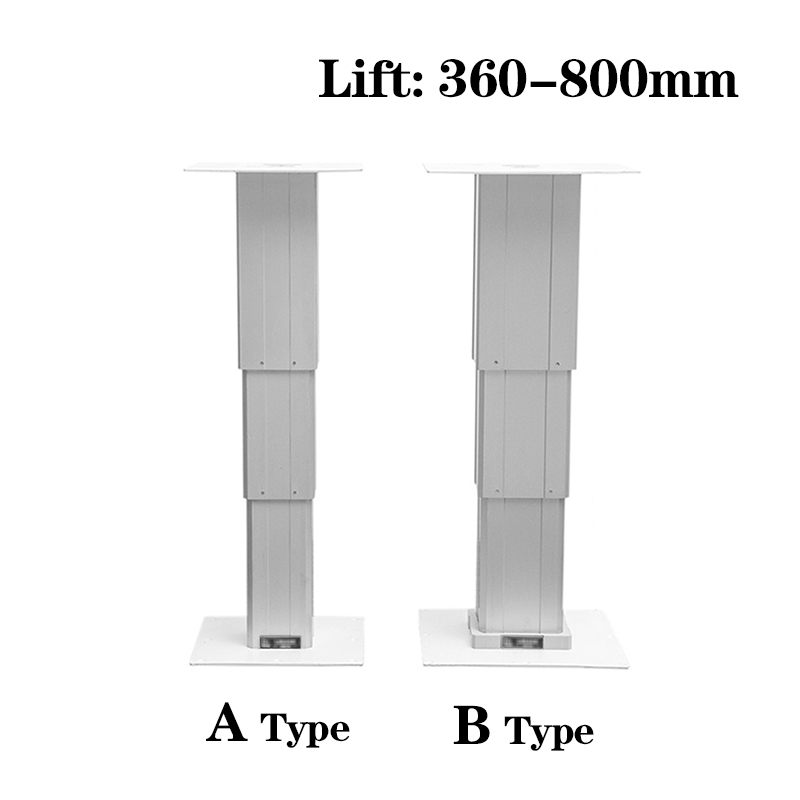 Electric type Tatami lift Electric lifting table Max 65kg lift platform Lift 360-800mm for automatic adjustment height