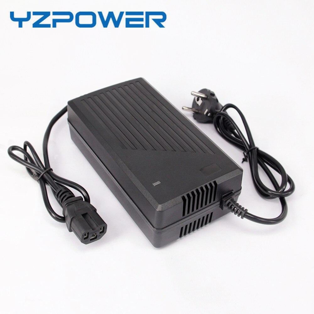 YZPOWER 43.8 V 3.5A 4A 4.5A LifePO4 Chargeur De Batterie Pour 12 S 36 V 8Ah 10Ah 12Ah lifepo4 BatterieYZPOWER 43.8 V 3.5A 4A 4.5A LifePO4 Chargeur De Batterie Pour 12 S 36 V 8Ah 10Ah 12Ah lifepo4 Batterie