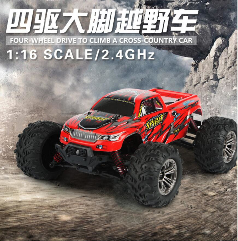 New High Speed racing Remote Control 1:16 Scale 32-36KM/H Four-wheel drive Electric Independent Suspension RC Car Model VS 4WD14