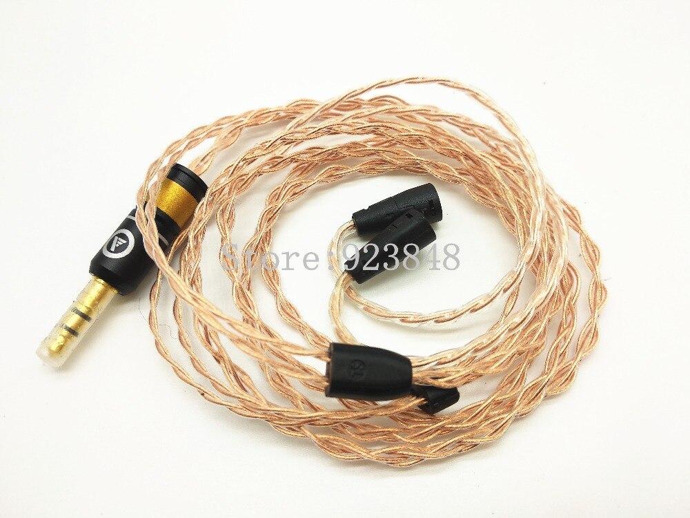 7n single crystal copper diy earphone wire 60core ie80 MMCX IM50 UE18 la76932n 7n 56v6