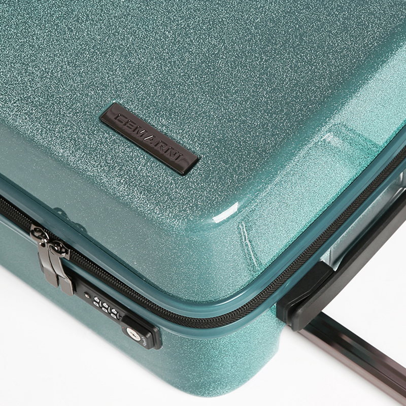 20''24'' Like The Stars Flowing Glittering Luggage Surface,PC Shell & Metal Drawbar Rolling Luggage Bag Trolley Case For Girls