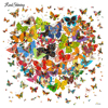 REALSHINING Flowers Butterfly Diy Diamond Painting Full Square Mosaic Resin Handmade Embroidery Mosaic 3D Cross Stitch