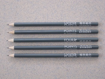 2017 new product factory price drawing professional pencils wholesale fancy pencil black wood hb pencil