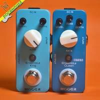 MOOER Ensemble King Classic Chorus Guitar Effect Pedal Embellishment For Tone Pure Analog Chorus Sound Ture