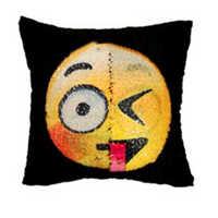 FLC с блестками, меняющие лицо чехлы на декоративные подушки Русалка декоративные домашние наволочки диван подушка крышка 40x40 см 15