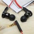 Classic 3.5mm Metal Earphones Super Headphone hifi Earbuds  stereo earpods for iphone4/5/6 Samsung Xiaomi Huawei MP3/4 earphones