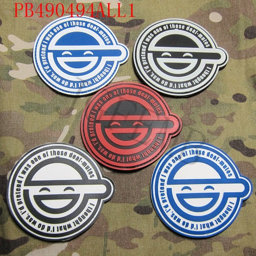 Ghost In Shell Stand Alone Complex The Laughing Man 3d Pvc Patch 9cm 8cm The Patch 3d Pvc Patchpatch 3d Aliexpress