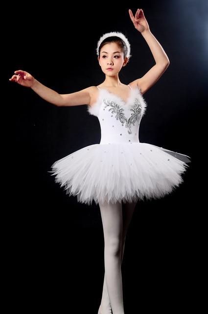 3361d6745 new Children costumes Ballet clothes Girls Suspenders tutu White ...
