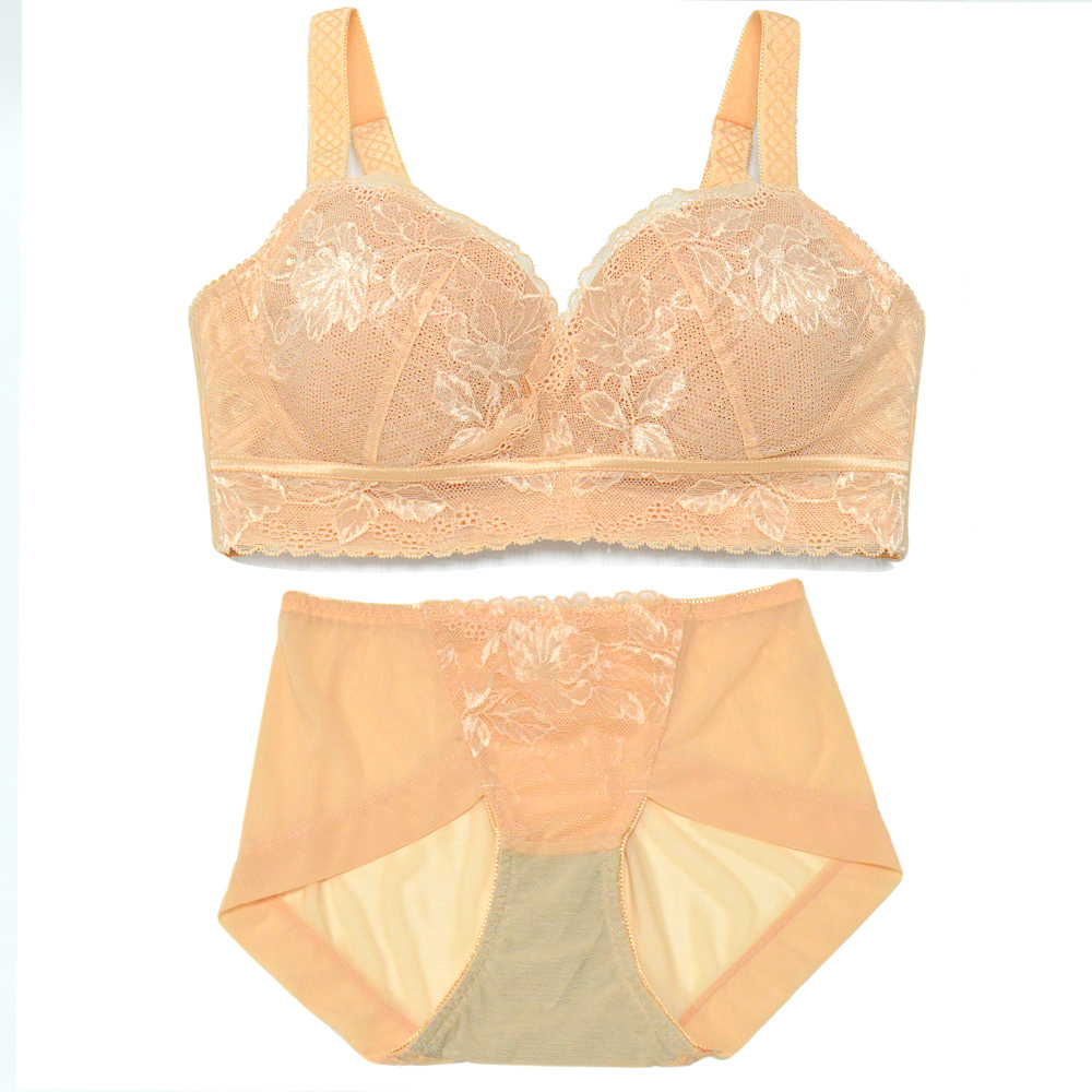 Sexy Winter Beautuful Bra and Panties Set Womens Underwear Lingeries Lace Bralette brief sets plus size B C D E F Cup Wire Free