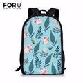 FORUDESIGNS/2018 повседневная женская сумка на плечо с цветочным принтом и бабочкой  большие вместительные сумки для девушек  школьная сумка для ст...