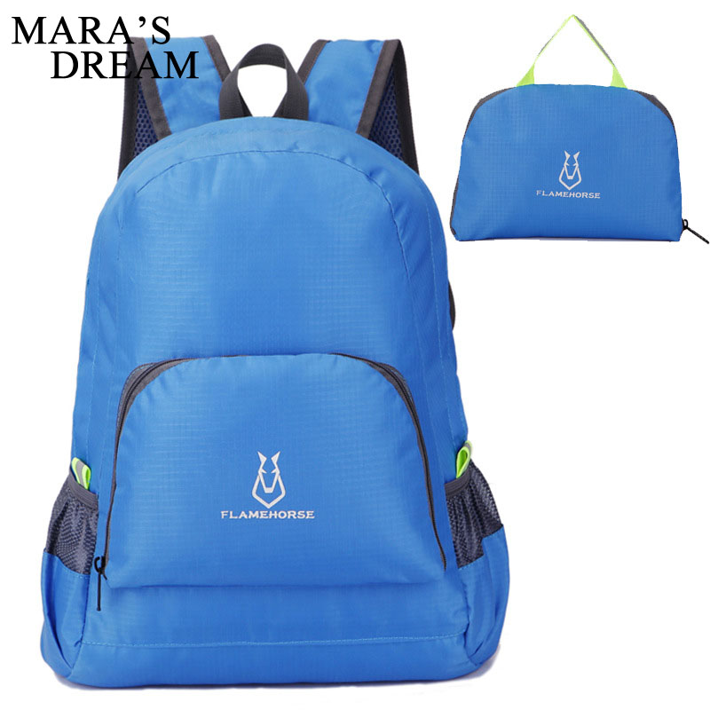 Mara's Dream 2018 Lightweight Nylon Foldable Backpack Waterproof Backpack Folding Skin Bag Pack For Women Men Travel Rucksack лопата штыковая прямоугольная нержавеющая сталь