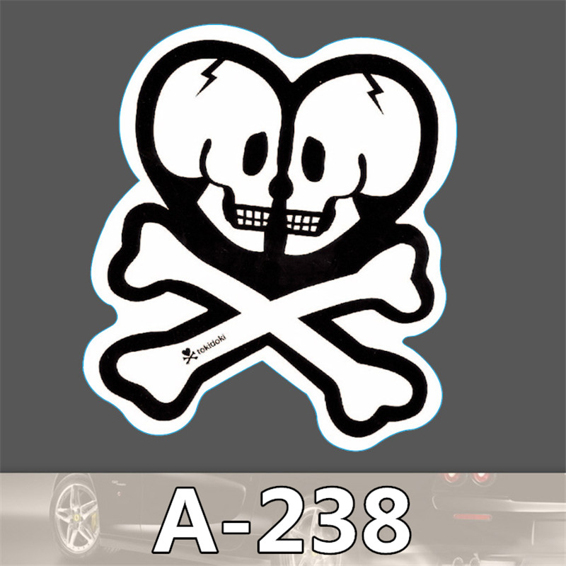 A238 Not repeating waterproof stickers for Home decor Travel Suitcase Wall Bike fridge car sticker Sliding Plate Styling