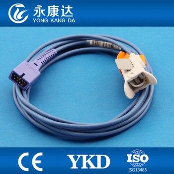 3pcs/pack YKD Oximax Spo2 Sensor 9 pins Pediatric finger clip sensor/probe CE&ISO13485