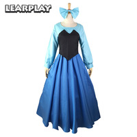 The Little Mermaid Ariel Cosplay Costumes Princess Dress For Women Adult Sexy Gown Fancy Halloween Party Dance Performance Wears