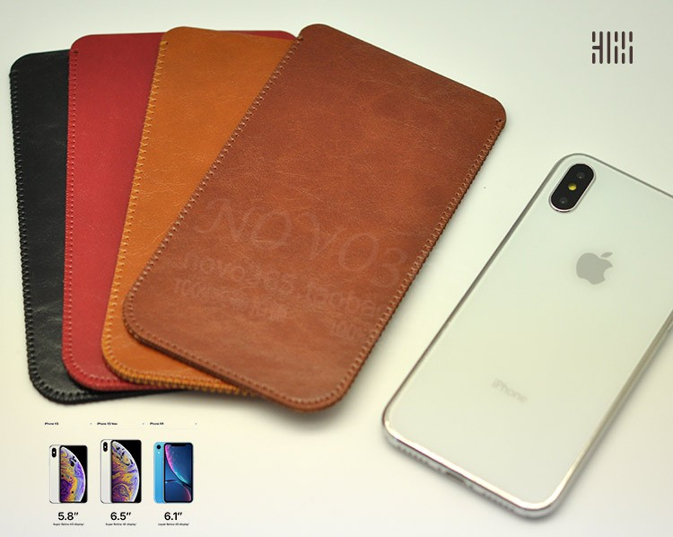 For iPhone Xs Max 6.5Case Microfiber Leather Phone sleeve Bag Cover Pouch Pocket with Card Slot For iPhone XR XS X Coque FundasFor iPhone Xs Max 6.5Case Microfiber Leather Phone sleeve Bag Cover Pouch Pocket with Card Slot For iPhone XR XS X Coque Fundas