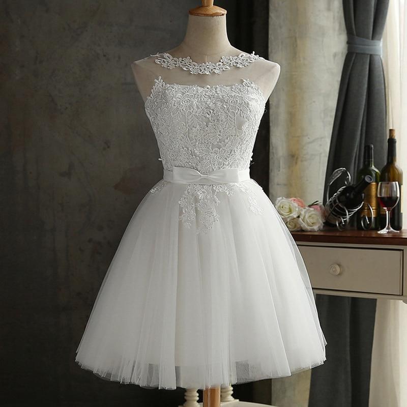 3XL Plus Size Mulheres Branco Bowknot Vestido de Renda 2018 Moda Sólidos A-Line Sem Mangas Balanço Sexy Elegante vestidos de Festa Vestidos