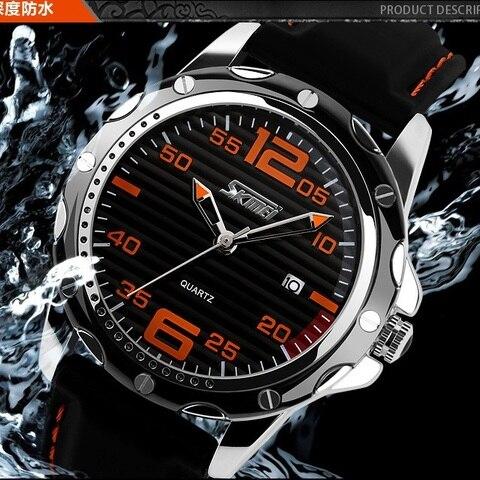 man fashion casual watch men sports watches men military wristwatches mans silicone strap quartz wristwatch relogio masculino Multan