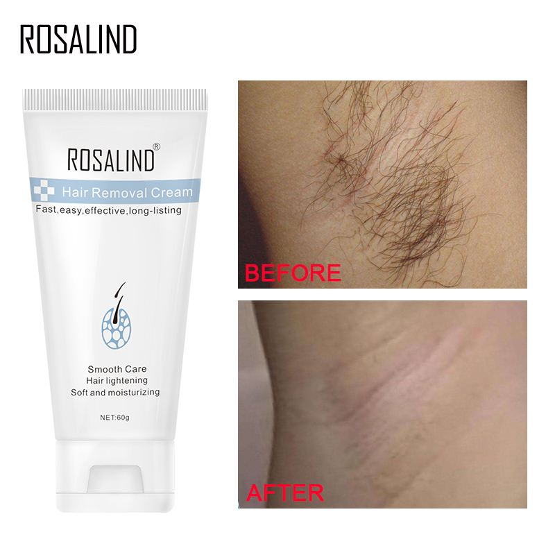 ROSALIND Hair Removal Cream Underarm Hand Leg Body Painless Effective depiladora Facial Hair Remover Lightening Smooth Care image