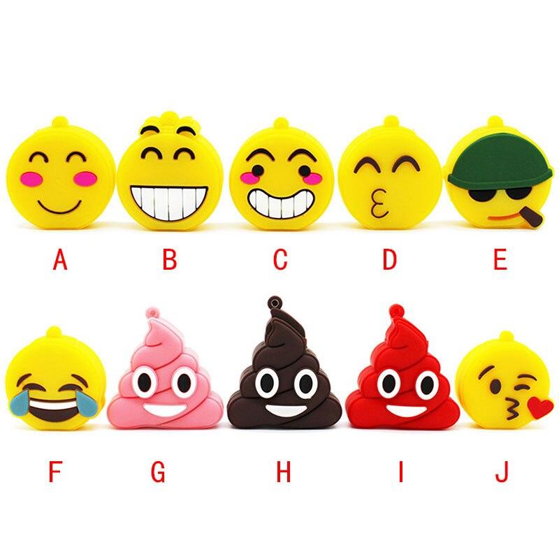 Binful 5 Farbe 64 Gb Nette Smiley Gesicht Usb Flash Drive 4 Gb 8 Gb 16 Gb 32 Gb-stick Usb 2.0 Usb Stick Reich An Poetischer Und Bildlicher Pracht