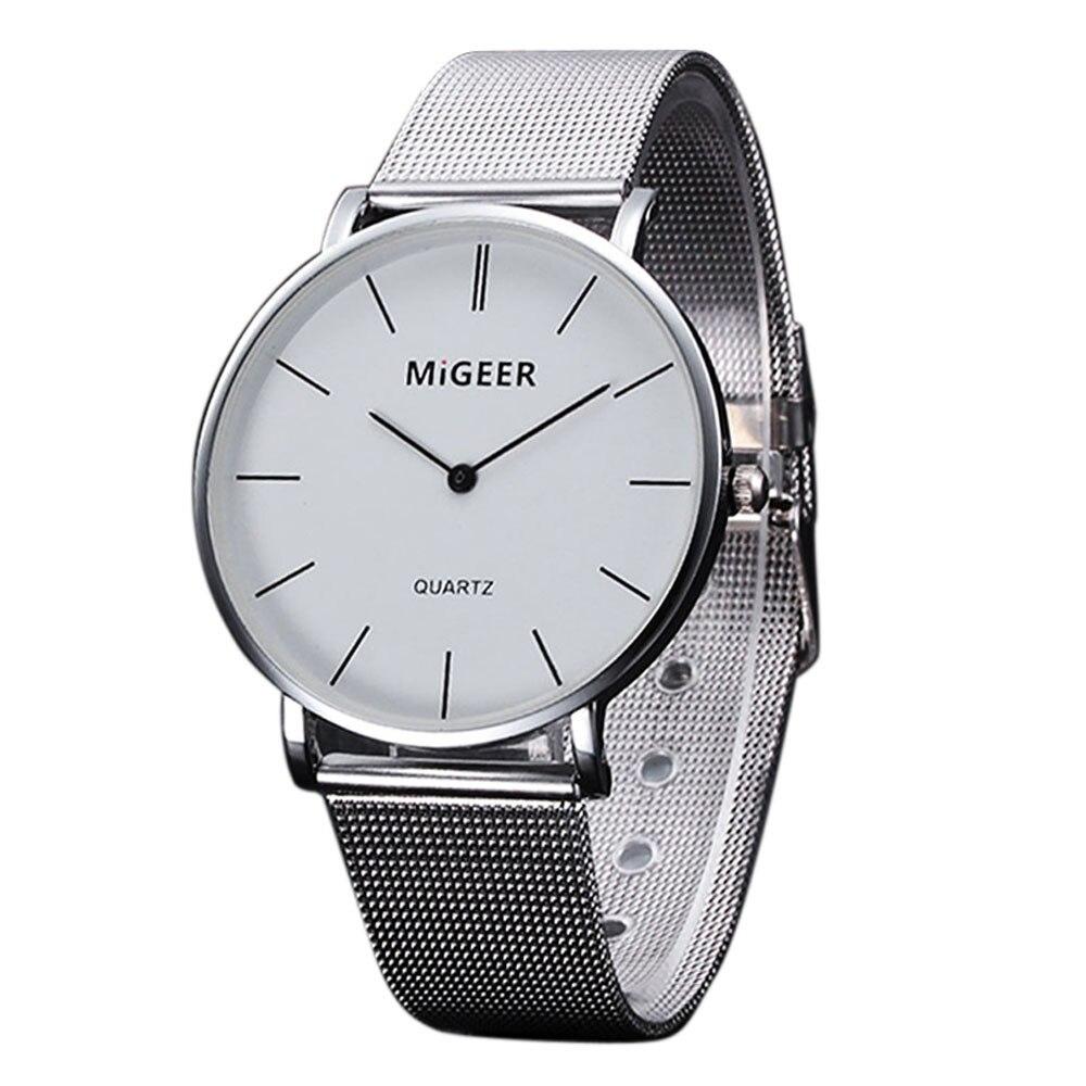 MIGEER font b Watches b font 1PC font b Women b font Fashion Bracelet Quartz font