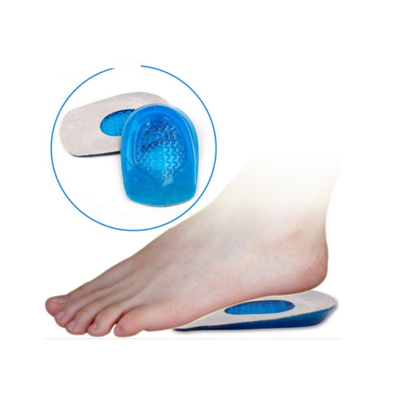 Silicone Gel Insoles Heel Cushion Soles Relieve Foot Pain Protectors Support Shoe Pad Feet Care  Men Woman  Orthopedic Insoles