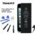 Batería del teléfono para iphone 5 thinkant real capacidad 1440 mah batería para apple iphone5 con máquinas herramientas kit de baterías móviles