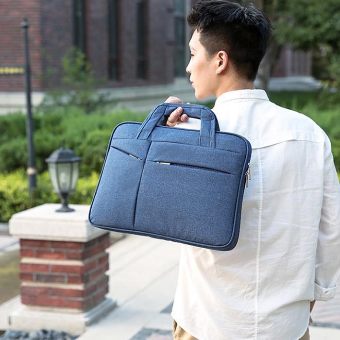 Venda quente 16in masculino simples maleta oxford