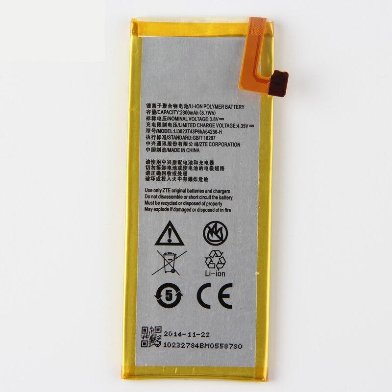 Origina High Capacity LI3823T43P6HA54236-H phone battery For ZTE Blade S6 Star 1 2 S2002 S2003 S2005 G720T G720C Geek II