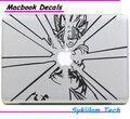 Dragon Ball Гоку Снялась для apple Наклейки Macbook Кожи Air 11 12 13 Pro 13 15 17 Retina Наклейка Loptop Стены Винила Автомобиля Логотип случае